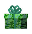 23 february gift for men protective khaki box vector image vector image