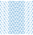 Abstract geometric pattern background blue texture vector image vector image