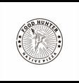 food hunter vector image vector image