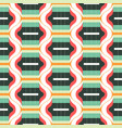 geometric abstract seamless pattern background vector image vector image