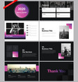 modern presentation template for business vector image vector image