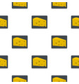 piece of cheese pattern flat vector image