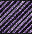 the diagonal lines banner purple sequins back vector image