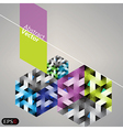 Abstract business background vector image