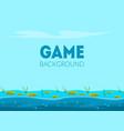 game background banner template natural landscape vector image vector image