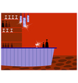 Retro Cocktail Bar vector image