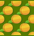 seamless apricot background for your products and vector image vector image