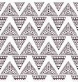 seamless pattern in the style of boho vector image vector image