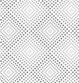 Textured with triangles light and dark squares vector image vector image