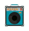 guitar amplifier technology vector image