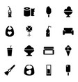 16 soft icons vector image vector image