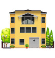 A big building vector image vector image