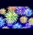 abstract colored firework background with free vector image
