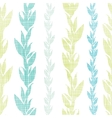 Blue green seaweed vines seamless pattern vector image