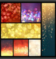 creative bokeh abstract trendy texture vector image vector image