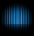 curtain of blue background vector image vector image