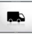 delivery web icon vector image
