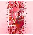 Happy valentines day and weeding background vector image vector image