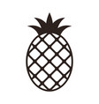 pineapple icon isolated on white background vector image vector image