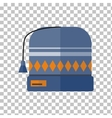 Winter Hat Isolated vector image vector image