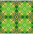 Seamless mosaic ornament vector image