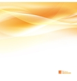 Abstract orange wind vector image vector image