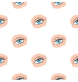Applied mascara icon in cartoon style isolated on vector image vector image