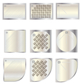 Bathroom shower tray top view set 7 for interior vector image vector image