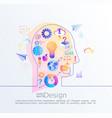 creative concept idea vector image vector image