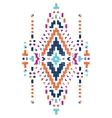hand drawn tribal design vector image vector image