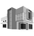 House model vector image vector image