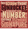 Sun Rocket Did They Getcha text background vector image vector image