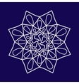Arabic pattern geometry pattern in vector image