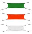 Textile strips set vector image