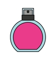 female lotion bottle icon vector image vector image