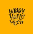 fun halloween abstract logo vector image