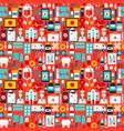 health tile pattern vector image vector image