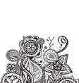 Mandala Doodle Design Element vector image vector image