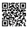 QR code silhouette vector image