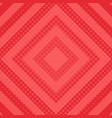 red halftone background vector image