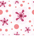 seamless of japanese sakura flower vector image