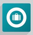 flat Case icon vector image