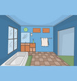 bathroom interior vector image vector image