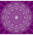decorative violet pattern vector image