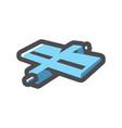 gps satellite technology icon cartoon vector image