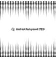 gray gradient dot seamless background vector image vector image