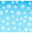 Seamless pattern texture with snowflakes and snow vector image vector image