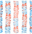 seamless pattern with herbs foliage plants vector image vector image