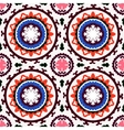 Suzani seamless ethnic pattern vector image vector image