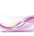 abstract wave line background vector image